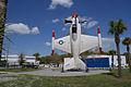 Lockheed XFV-1 Salmon BuNo 138657 Above Wide SNF Setup FLAirMuse 15March2014 (14606413473).jpg