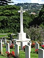 Locksbrook Cemetery, Bath, Cross of Sacrifice.JPG