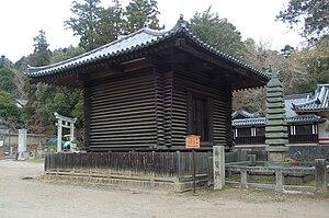 Kura (storehouse) - Log cabin style kura in Nara