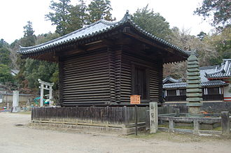 Kura (storehouse) - Log cabin style kura in Nara
