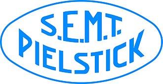 SEMT Pielstick - Image: Logo SEMT Pielstick bleu