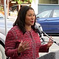 London Breed at Inner Sunset Streetscape Project ribbon cutting, September 2019.JPG