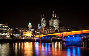 June 2017 London Bridge attack - London Bridge at night in 2013