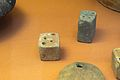 Loom-weights and cubes, Minoan, 2100-1450 BC, British Museum, 142757.jpg