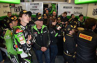 Loris Baz French motorcycle racer