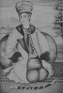 Lotf Ali Khan Shah of Iran