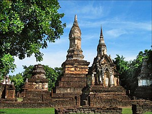 Si Satchanalai Historical Park - Wat Chedi Chet Thaeo