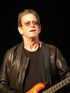 O musico y cantaire estatounitense Lou Reed.