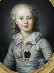 Rosalie Filleul: Louis-Antoine d'Artoisduc d'Angoulême