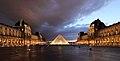 Louvre at dusk2.JPG