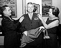 Lowell E. English promotion ceremony with Commandant Wallace M. Greene Jr.jpg