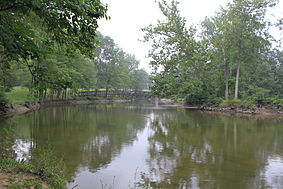 Lower huron metropark huron river bridge.JPG