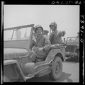 Lt. Gen. Holland M. Smith (right) USMC takes jeep tour of Saipan airfield. - NARA - 520968.tif