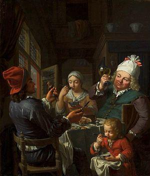 Gourmand - Gourmands by Krzysztof Lubieniecki, National Museum in Warsaw