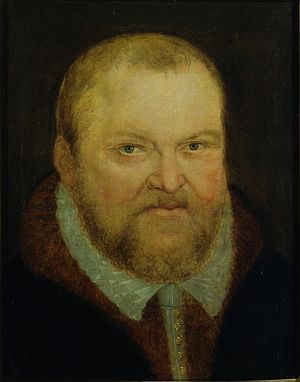 Augustus, Elector of Saxony - Portrait by Lucas Cranach the Younger