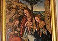 Lucas Cranach the Elder, The Virgin and Child with Saints, ca. 1520, Lobkowicz Palace (2) (26161307576).jpg