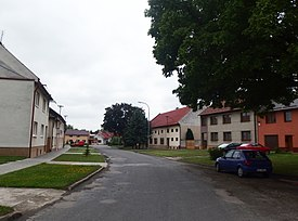 Ludslavice, náves.JPG