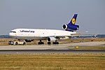 "Lufthansa Cargo McDonnell Douglas MD-11F ""Buongiorno Italy"" (29808831341).jpg"