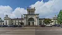 Luga I railway station asv2018-07.jpg