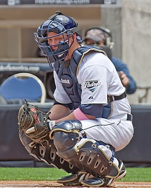 Luke Carlin - Carlin with the Padres.