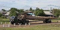 Lumber transport in Yurty.jpg