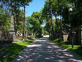 Lwów - Cmentarz Łyczakowski 04