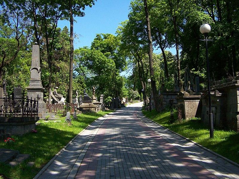 Grafika:Lwów - Cmentarz Łyczakowski 04.JPG