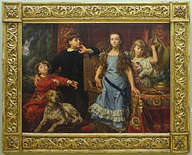 Lwowska Galeria Sztuki - Jan Alojzy Matejko - Portrait of the Artist's Children.jpg