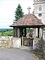 Lych gate, St John the Baptist Church, Yarcombe - geograph.org.uk - 1448218.jpg