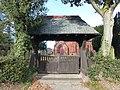Lychgate to St Michael's Church, Little Leigh.jpg
