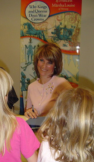 Princess Märtha Louise of Norway - Princess Märtha Louise at a 2006 book signing in Minnesota, USA.