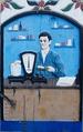 Mężczyzna w sklepie przy wadze - Man in a shop at a scale.tif