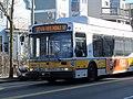 MBTA route 30 bus on Washington Street, March 2016.JPG