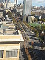 MFA station and Huntington Ave from above.jpg