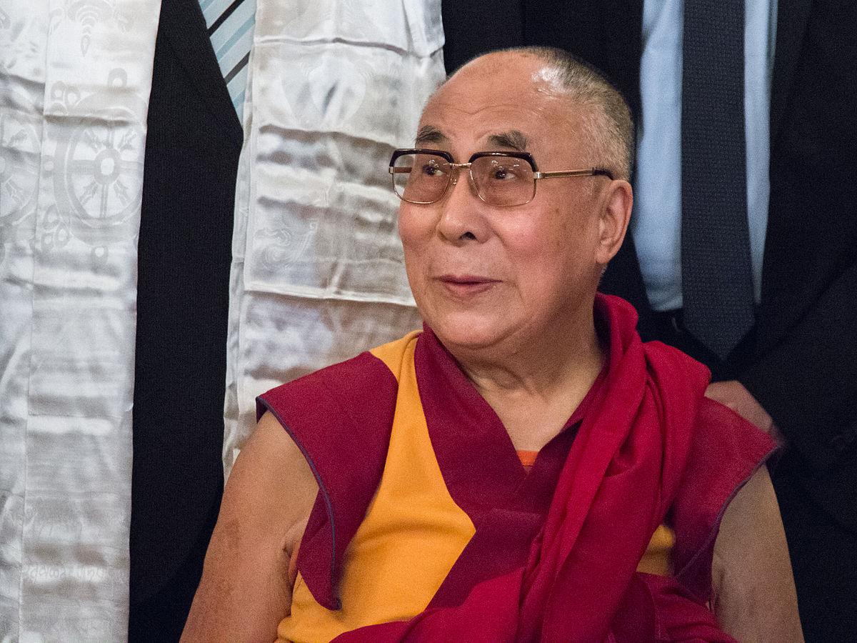 Seine Heiligkeit Der 14 Dalai Lama Tenzin Gyatso Ist Das Geistige