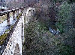 Machnín, železniční most, od Machnína (03).jpg