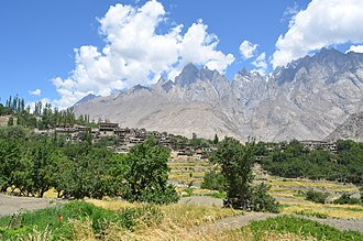 Khaplu - A village in Mashaburum valley