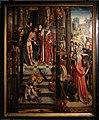 Maestro degli altari di aachen, altare della passione, colonia, 1515-20, 01.jpg