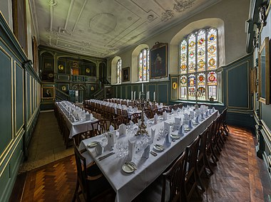 Magdalene College, Cambridge, dining hall