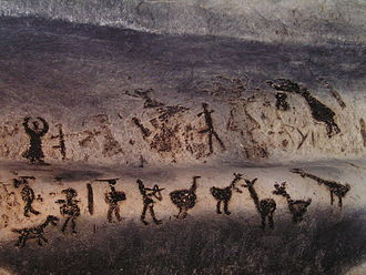 History of Bulgaria - The Magura cave drawings.