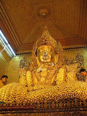 Mahamuni Buddha Temple - Mahamuni Image