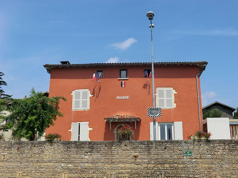 Mairie de Sainte-Euphémie (Ain).
