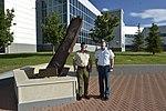MajGen Cripwell 20 Jul 15 visits NORAD-NORTHCOM HQ (19680433288 3bf119575c o).jpg
