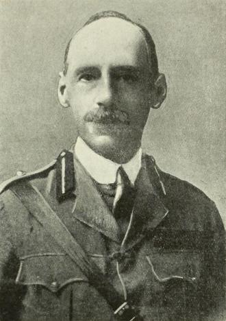 G. F. Gorringe - Gorringe in about 1917