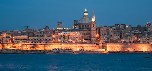 Malta, Valletta, St Paul's Anglican Cathedral