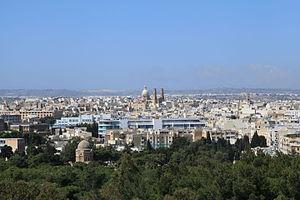 Ħamrun - Ħamrun skyline