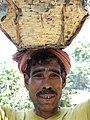 Man Bearing Load - Outside Srimangal - Sylhet Division - Bangladesh (12907565653).jpg