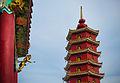Man Fat Tsz (Ten Thousand Buddhas Monastery) , Pagoda, Pai Tau Hang, Sha Tin (Hong Kong).jpg