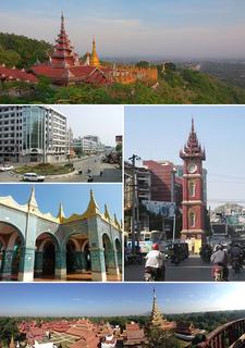 Mandalay City in Myanmar