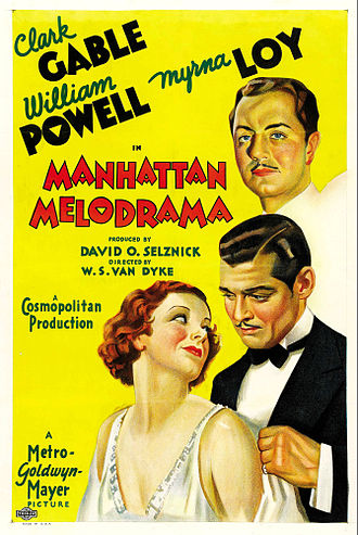 Manhattan Melodrama - Theatrical release poster